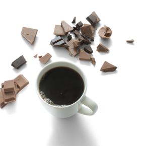 chocolate and coffee