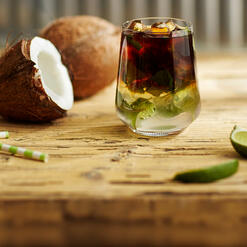 Cold Brew coffee recipe with coconuts