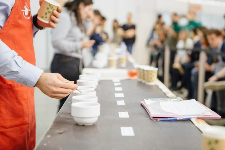 Moscow Coffee and Tea Expo 2017 Cupping