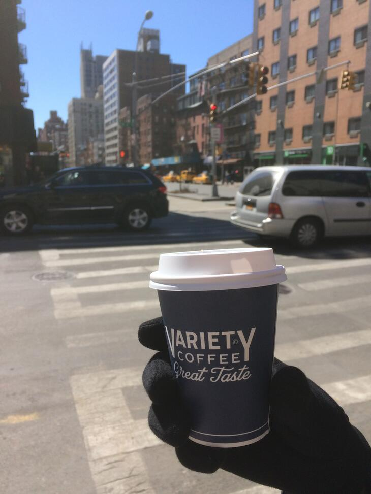 New york cafes variety coffee