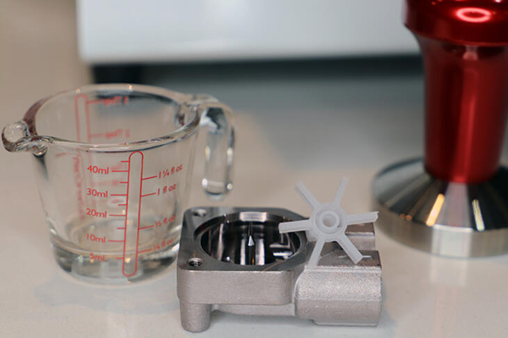 espresso machine waterwheel