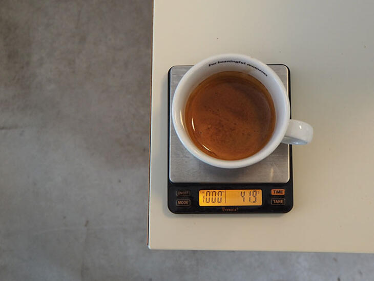 coffee yield espresso