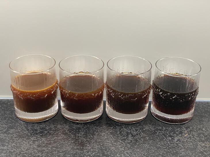 cold brew differences in colour