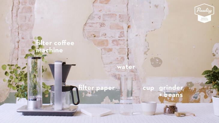 automatic filter coffee equipment