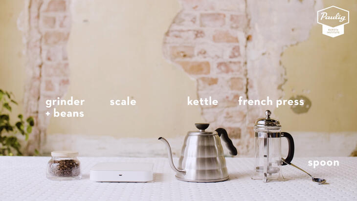 french press equipment