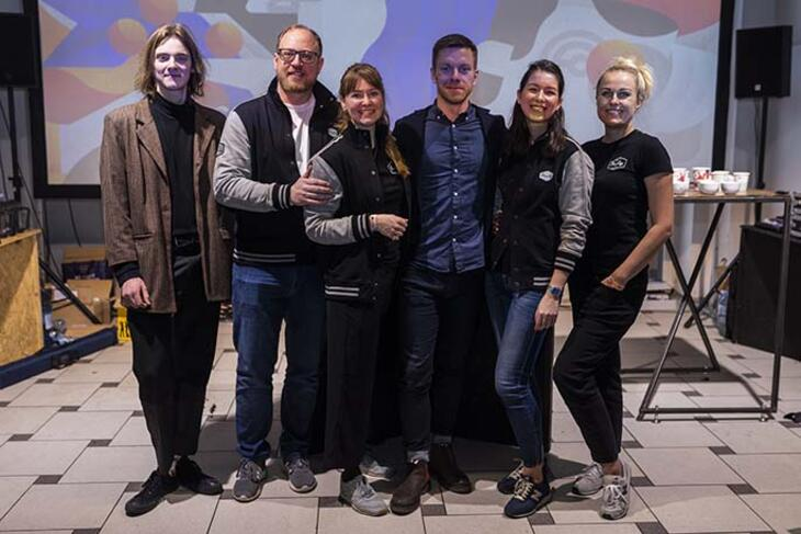 paulig team in vilnius coffee festival 2020
