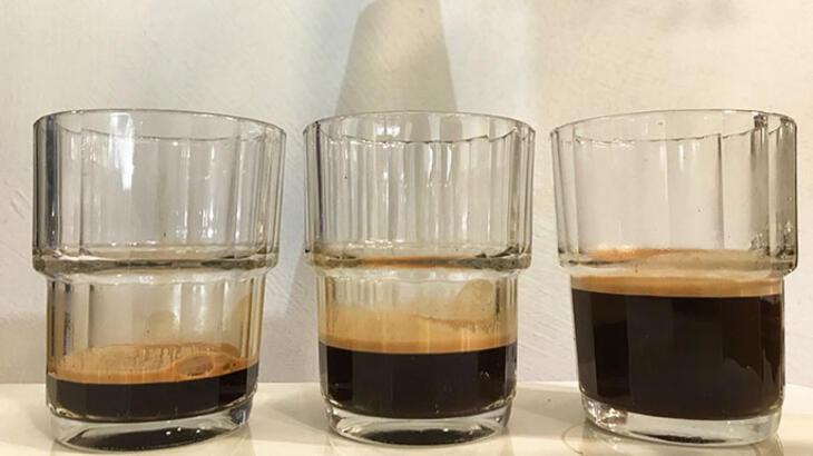 ristretto, espresso and lungo