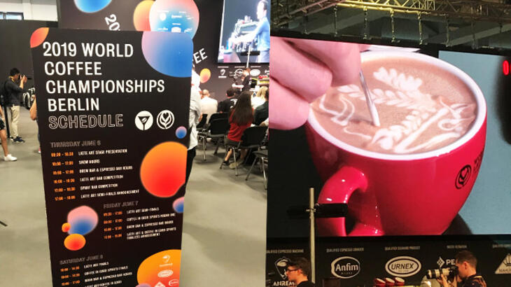 world of coffee competitions